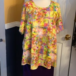 LuLaRoe Perfect T (XL) and Cassie (3x) Outfit